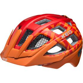 KED Kailu Lapset Pyöräilykypärä , oranssi/punainen